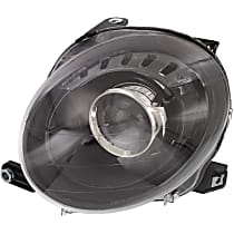 Driver Side Headlight, With bulb(s) - Hatchback, Clear Lens