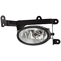 CAPA Certified Front, Passenger Side Fog Light, With bulb(s)