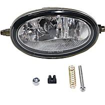 Front, Driver Side Fog Light, With bulb(s) - Dealer Installed
