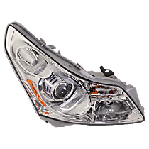 Passenger Side HID/Xenon Headlight, With bulb(s) - Sedan, Without Adaptive Frontlighting System, Clear Lens