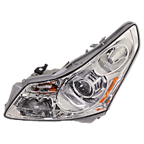 Driver Side HID/Xenon Headlight, With bulb(s) - Sedan, Without Adaptive Frontlighting System, Clear Lens
