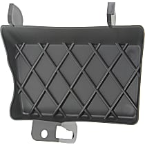 Front, Driver Side Tow Eye Cover, Textured
