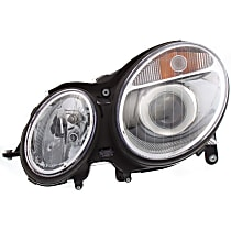 Sedan/Wagon, Passenger Side Halogen Headlight, With bulb(s) - To 6-30-06, CAPA CERTIFIED