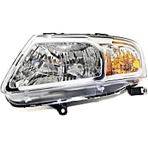 CAPA Certified Driver Side Headlight, With bulb(s) - Clear Lens