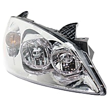 Passenger Side Halogen Headlight, With bulb(s) - Fits Models With CTF Package, CAPA CERTIFIED