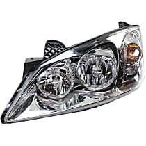 Driver Side Halogen Headlight, With bulb(s) - Fits Models With CTF Package, CAPA CERTIFIED