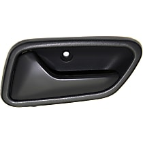 Front or Rear, Driver Side Interior Door Handle, Gray