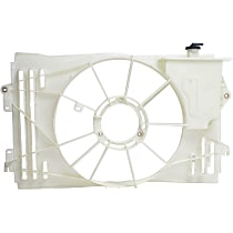 Fan Shroud, Fits Radiator Fan