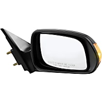 ReplaceXL Power Mirror, Passenger Side, Non-Folding, Non-Heated, w/ Signal, Paintable