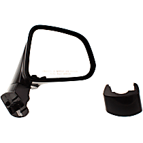 ReplaceXL Power Mirror, Passenger Side, Manual Folding, Heated, Paintable