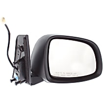 ReplaceXL Power Mirror, Passenger Side, Manual Folding, Non-Heated, Paintable