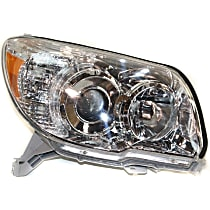 Passenger Side Headlight, Without bulb(s) - 06-09 4Runner (Limited/SR5 Model), CAPA CERTIFIED
