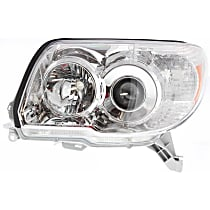 Driver Side Headlight, Without bulb(s) - 06-09 4Runner (Limited/SR5 Model)