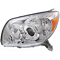Driver Side Headlight, Without bulb(s) - 06-09 4Runner (Limited/SR5 Model), CAPA CERTIFIED