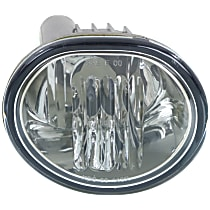 Front, Passenger Side Fog Light, With bulb(s)