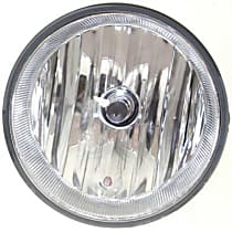 CAPA Certified Front, Driver or Passenger Side Fog Light, With bulb(s)