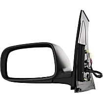 Driver Side Heated Mirror - Power Glass, Manual Folding, Without Signal Light, Without memory, Paintable