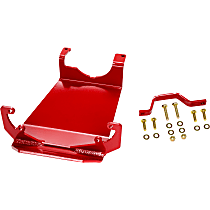 RS62117 Skid Plate, Red, Direct Fit