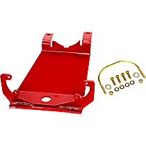 RS62124 Skid Plate, Red, Direct Fit