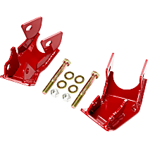 RS62125 Skid Plate, Red, Direct Fit