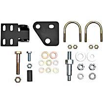 RS64100 Steering Damper Bracket - Natural, Steel, Direct Fit