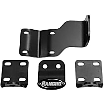 Rancho RS64101 Steering Damper Bracket - Natural, Steel, Direct Fit