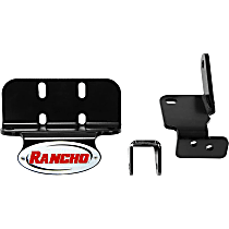 Rancho RS64450 Steering Damper Bracket - Natural, Steel, Direct Fit