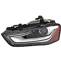 Driver Side HID/Xenon Headlight, Without HID bulb and ballast; With turn signal bulb
