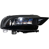 Fog Light Assembly - Passenger Side, (Convertible, without S-Line Package)/Sedan, CAPA CERTIFIED