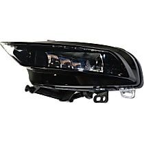 Fog Light Assembly - Driver Side, (Convertible, without S-Line Package)/Sedan, CAPA CERTIFIED
