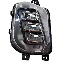 Fog Light Assembly - Driver Side, Factory Installed