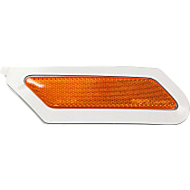 CAPA Certified Front, Passenger Side Bumper Reflector