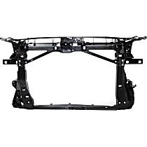 Radiator Support - Plastic with Steel, Sedan, CAPA CERTIFIED