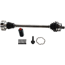 Axle Assembly - Front, Driver Side