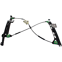 Front, Passenger Side Power Window Regulator, Without Motor, Convertible - (S4-4th Gen, Old Body Style)