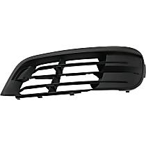 Driver Side, Bumper Grille, Textured Black