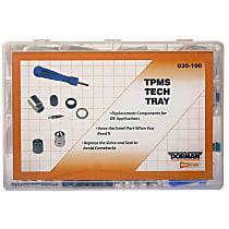 Dorman 030-100 TPMS Valve Kit - Direct Fit, Kit