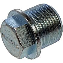 Oil Drain Plug - Natural, Steel, Standard, Direct Fit, Set of 3