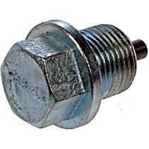 Dorman 090-114 Oil Drain Plug - Natural, Steel, Magnetic, Direct Fit, Set of 5