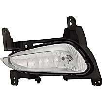CAPA Certified Driver Side Fog Light