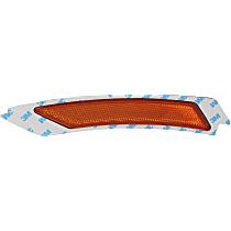Front, Driver Side Bumper Reflector