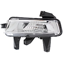 Driver Side Driving Light, With bulb(s)
