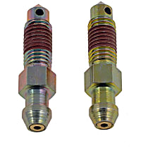Brake Bleed Screw - Direct Fit, Sold individually Front Rear