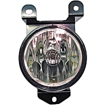 1570224 Front, Driver Side Fog Light, With bulb(s)