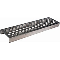 157-5402 Side Steps - Natural, Aluminum, Direct Fit, Sold individually