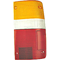 Tail Light Lens - Passenger Side, Direct Fit, Sold individually