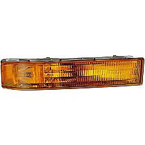 Front, Driver Side Turn Signal Light, Without bulb(s)