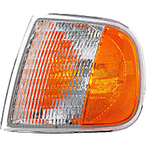 1630260 Front, Driver Side Turn Signal Light, Without bulb(s)