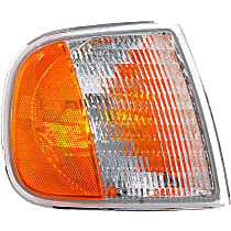 1630261 Front, Passenger Side Turn Signal Light, Without bulb(s)