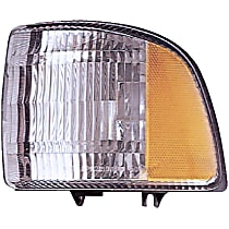 1630403 Front, Passenger Side Turn Signal Light, Without bulb(s)